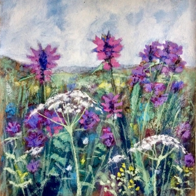 Betony Meadow, Mixed-media