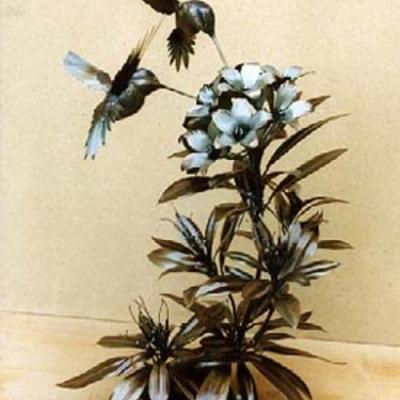 Humming Birds, Welded Steel